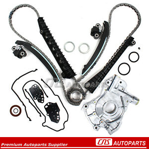 04 08 Ford F 150 Expedition Lincoln 5 4l Triton 3valve Timing Chain Oil Pump Kit