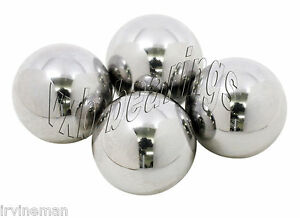 1 3 4 Inch Diameter Chrome Steel Balls G24 Pack 4 Ball Bearings