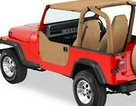 Jeep Wrangler Custom Fit Bikini Soft Top Spice Fits Tj Yj 1992 1993 1994 1995