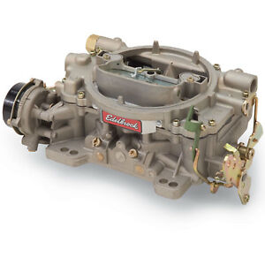 Edelbrock Marine Carburetor 1409 Performer Carb 600 Cfm Electric Choke