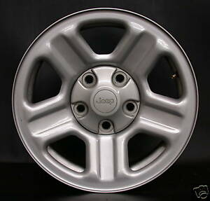 1 New Jeep Wrangler Factory Oem 16 Steel Wheel Rim 9072 2007 17 Free Shipping
