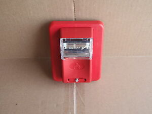 Gentex Fire Alarm Strobe Visual Flash Red