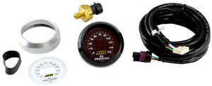 Aem 30 4407 52mm Digital 0 150psi Oil Pressure Meter Gauge Warranty Cover