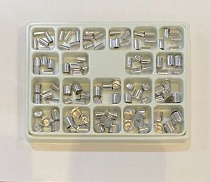 Dental Aluminum Shell Temporary Crowns Starter Kit Asstd Sizes 1 20 100 Pcs