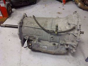 2005 2012 C6 Transmission Complete 6 Speed Automatic 6cya Used Corvette