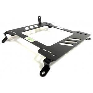 Planted Seat Bracket Driver Left Side Tall For Infiniti G35 03 08 Steel Black