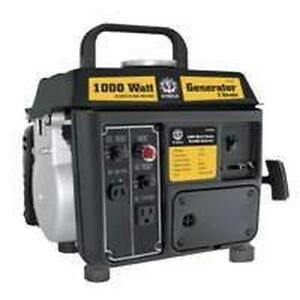 New In Box Steele Gg 100 1000 Watt Power Gas Generator 1 5hp Full Warranty