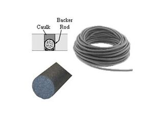 5 8 Closed Cell Backer Rod 100 Ft
