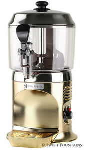 Commercial Drinking Chocolate Machine Hot Beverage Dispenser Gold 5l