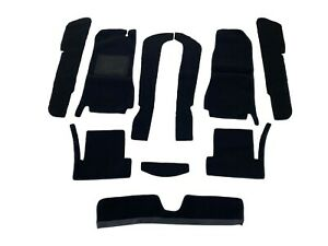 Fiat 124 Spider 66 82 Black Loop Carpet Kit With 20 Ounce Padding
