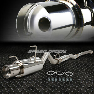 4 Muffler Tip Catback cat Back Exhaust silencer 02 06 Acura Rsx Dc5 Non s K20a3