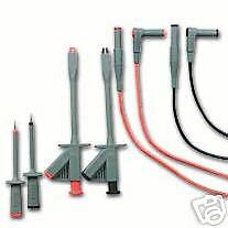 Extech Tl810 6 Pc Electrical Test Lead Kit Cat Iii 1000v