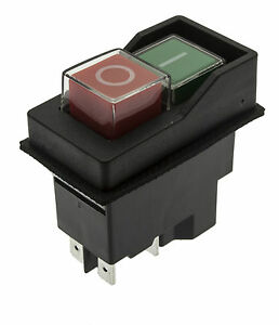 On off 110v Switch Fits Belle Electric Cement Mixer Minimix 140 150
