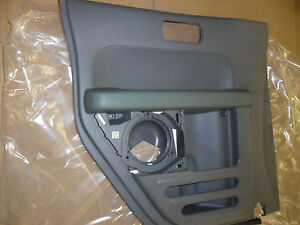 Oem Door Trim Panel Honda Element Rear Arm Rest 03 06 Grey Green Power Left