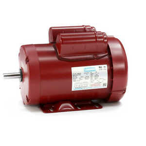 1 5 Hp 1725 Rpm 56h 115 230v Leeson Electric Motor Tefc new free Shipping
