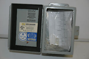 New Hubbell Wiegmann B060404ch Type 12 13 Enclosure Electric Junction Box