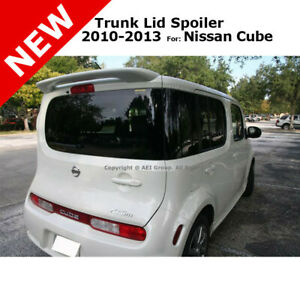 For Nissan Cube 10 13 Wagon Abs Top Trunk Rear Wing Spoiler Unpainted Primer