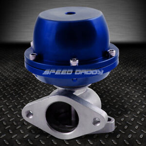 Cast Steel T2 External 38mm Turbo Wastegate Wg Bypass Exhaust spring 8 Psi Blue