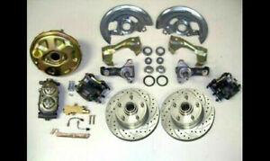 Big Block Chevy Gm A F Body Power Disc Brake Conversion Kit 9 Bonus Lines