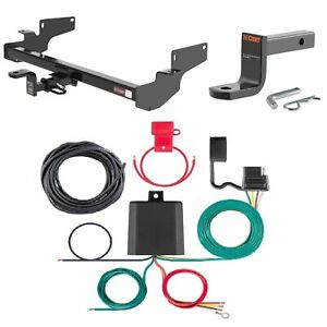 Curt Class 2 Trailer Hitch W Mount Wiring For Cadillac Deville Dts