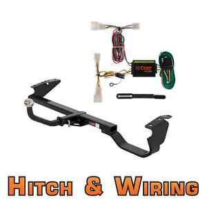 Curt Class 2 Trailer Hitch Wiring Euro Kit W 1 7 8 Ball For 2002 2006 Camry