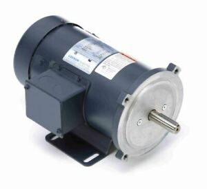 1 3 Hp 1800 Rpm 180 Volts Dc 56c Frame Tefc Leeson Electric Motor 098005