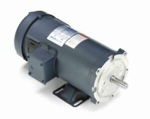 1 Hp 1750 Rpm 180 Volts Dc 56c Frame Tefc Leeson Electric Motor 108023