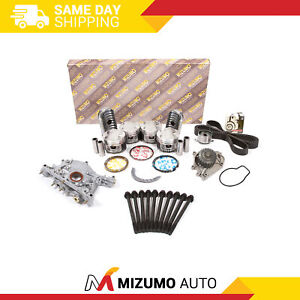 Overhaul Engine Rebuild Kit Fit 97 01 Acura Integra Type r Vtec 1 8l B18c5