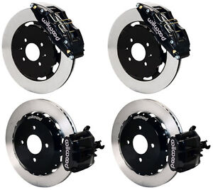Wilwood Disc Brake Kit honda Civic 10735 10211 12 Rotors 6 Piston Front Caliper