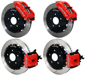 Wilwood Disc Brake Kit 2000 2009 Honda S2000 13 Rotors Red Calipers