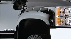 Bushwacker 20043 02 Pair Of Front Cut Out Fender Flares For 99 07 F250 350 Sd