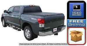 Access Literider 35239 Roll Up Tonneau Cover For Tundra 66 Bed W Deck Rail