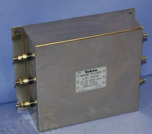 Used Tokin Lf 340 Noise Filter 250v 40a