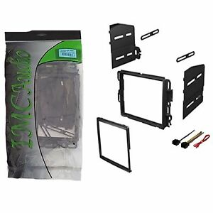 Double Din Dash Kit Stereo Radio Installation Install Kit W Wire Harness