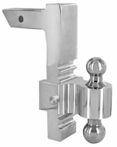 Andersen 3414 Rapid Hitch Adjustable Tow Hitch W 10 Drop Steel Plated Ball
