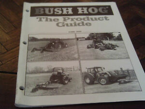 Bush Hog Product Guide All Loaders And Implements Tractor