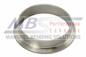V Band Exhaust Flange Pair 5 304 Stainless Steel Turbo Universal Mbs