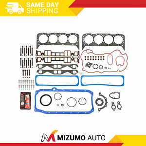 Full Gasket Set Head Bolts Fit 96 00 Cadillac Gmc Chevrolet 5 7l Ohv Vortec