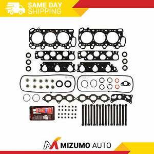 Head Gasket Bolts Set Fit 97 02 Acura Cl Honda Accord Vtec 3 0 Sohc J30a1
