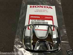 Genuine Oem Honda Civic 4dr Sedan Front Grille H Emblem 2001 2003