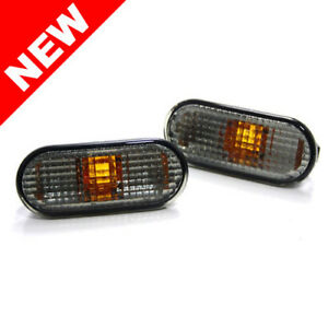 Depo Vw Mk4 Golf Jetta Passat B5 B5 5 Side Marker Lights Oe Light Smoke