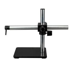 Single Arm Boom Stand For Stereo Microscopes Steel Arm Pin Mount