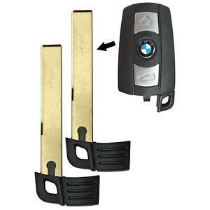 2 Smart Prox Emergency Remote Key Keyless Replacement Uncut Blade Blank For Bmw