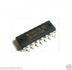 500 Pcs Sn74hc165n Dip 16 Sn74hc165 74hc165 Shift Register free Tracking No