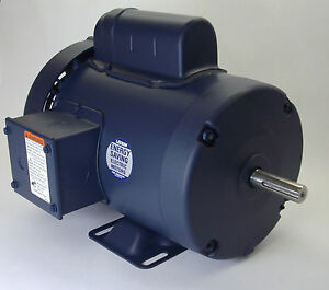 3 4 Hp 3450 Rpm 56 Frame 115 230v Leeson Electric Motor new free Shipping
