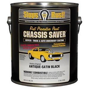 Magnet Paint Ucp970 01 Chassis Saver Paint Satin Black 1 Gallon Can