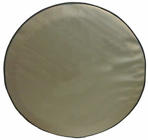 Sparecover Abc Series 32 Blank Tan Hd Vinyl Tire Cover Fits Jeep Wrangler