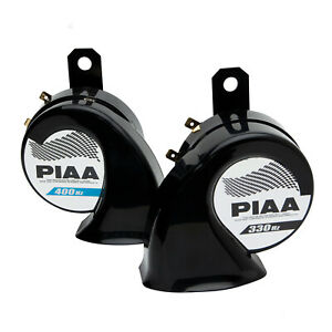 Piaa 85115 Loud Sports Horn Superior Bass Set Of Two 330hz 400hz