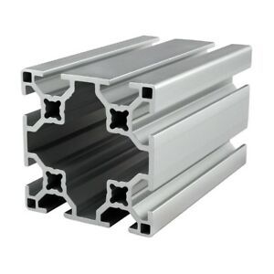 80 20 Inc T slot 60mm X 60mm Aluminum Extrusion 30 Series 30 6060 X 1525mm N