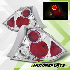 2001 2002 2003 Honda Civic 2door Coupe Halo Rear Brake Tail Lights Pair